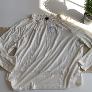 Last chance NWT! Ann Taylor Smock Neck Top